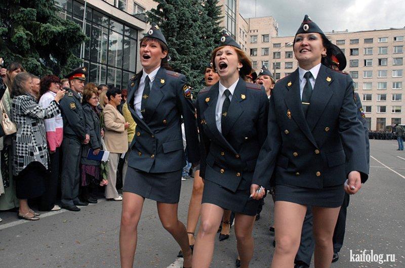 Фото голых девушек в форме российской полиции 29484 фотография