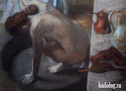 Названия картин на современный лад (20 картин)