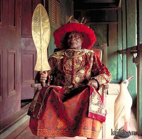 Королевские семьи Африки (14 фото)