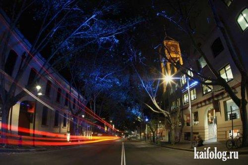 Фестиваль света в Сиднее (15 фото)