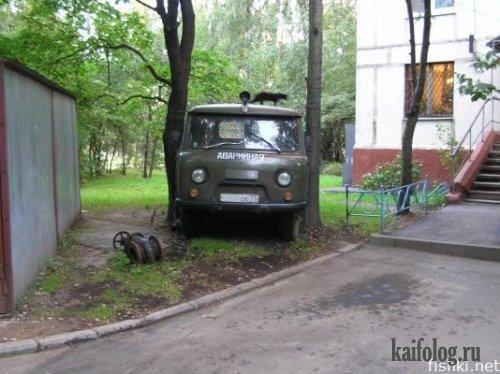 Мастера парковки (19 фото)