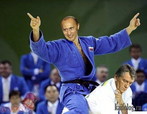 Президенты на олимпиаде (6 фото)