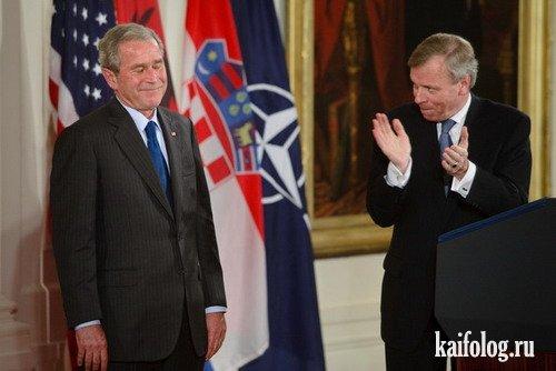 Прикольные президенты и политики (50 фото)