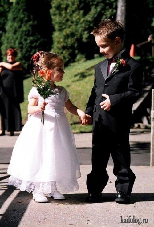Прикольные свадьбы (37 фото)