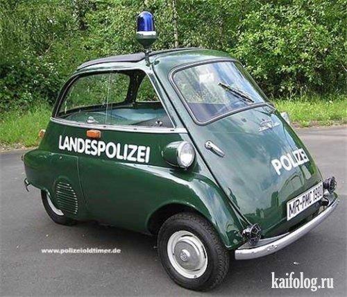 Самые маленькие автомобили (12 фото)