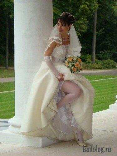 Прикольные свадьбы (43 фото)