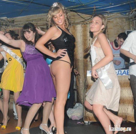 Пьяные выпускницы фото