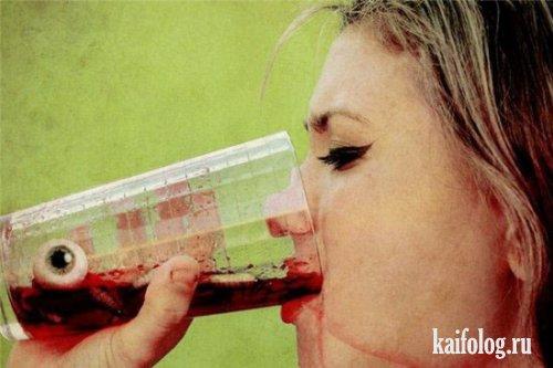 Жесткие коктейли (24 фото)