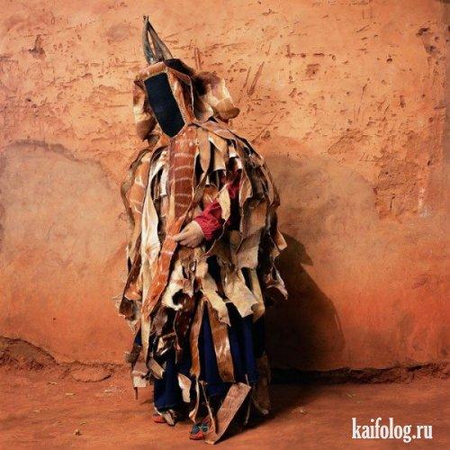 А вот мода из Африки (9 фото)