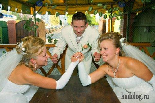 Свадебные приколы (56 фото)