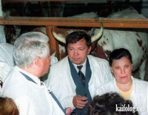 Прикольные фото политиков (56 фото)