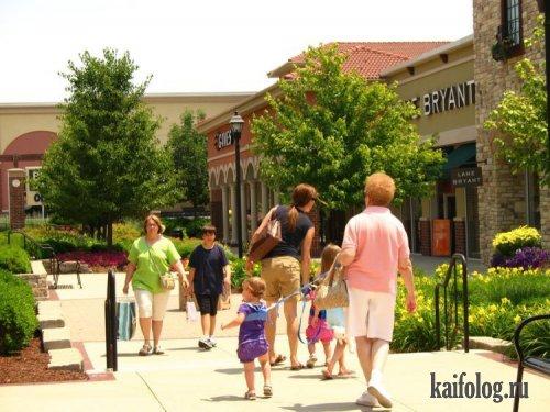 Любящие родители или как гулять с детьми (35 фото)