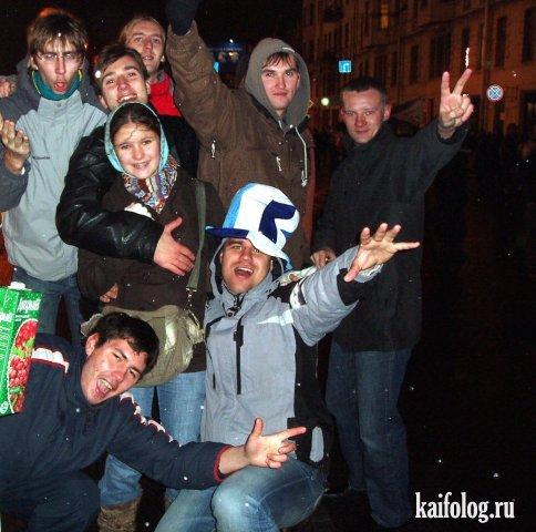 Новогодние отжиги (45 фото)