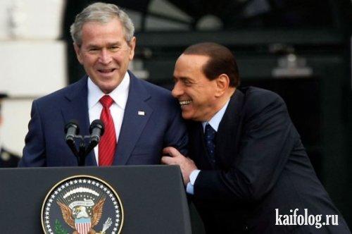 Прикольные политики (50 фото)