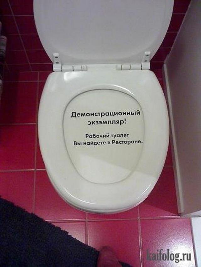 Чисто русские сортиры (50 фото)