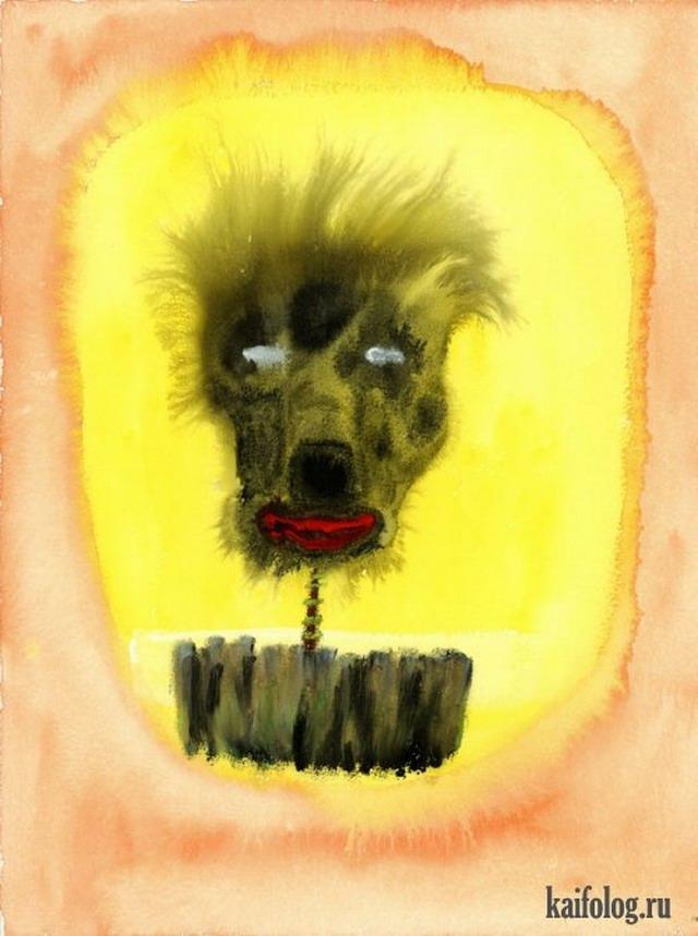 Картины Джона Лурье (14 картин)
