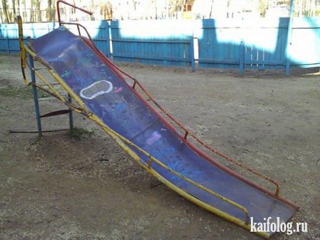Ужасы дестких площадок-2 (40 фото)