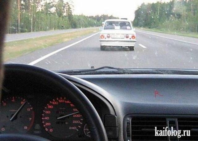 Автомобильные маразмы (45 фото)