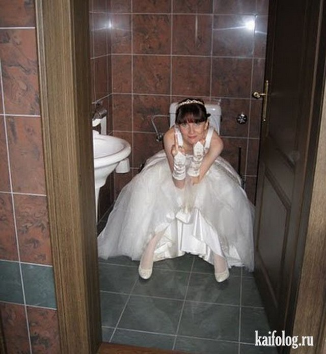 Невесты на втором взводе (33 фото)