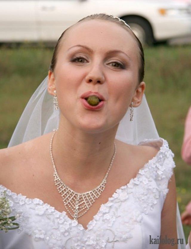 Невесты навеселе (33 фото)