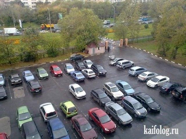 Мастера парковки. Часть-4 (60 фото)