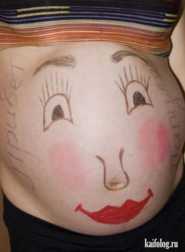 Беременные отжигают (25 фото и картинок)