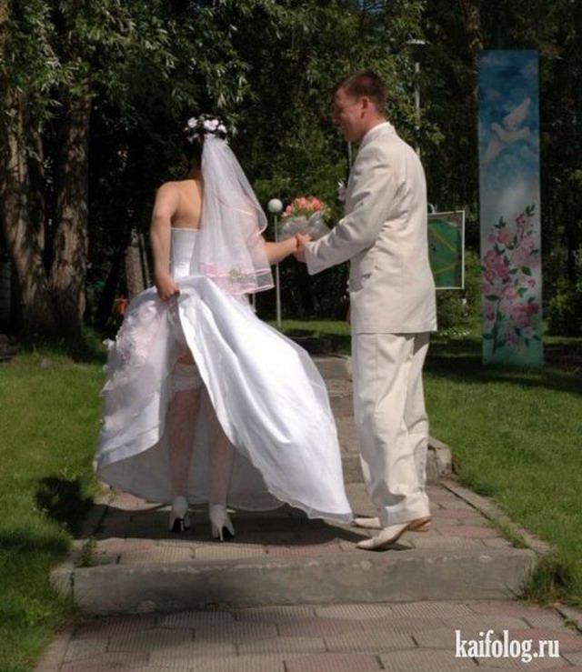 Невесты под куражом (33 фото)