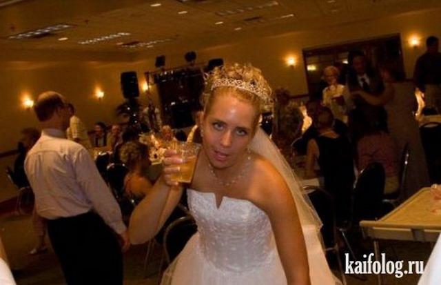 Невесты под мухой (33 фото)