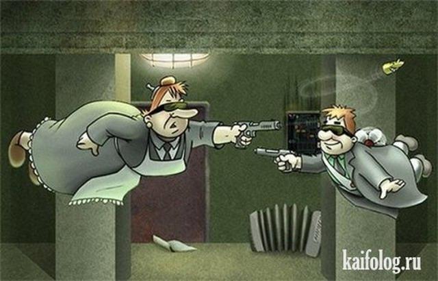 Персонажи советских мультфильмов на новый лад-2