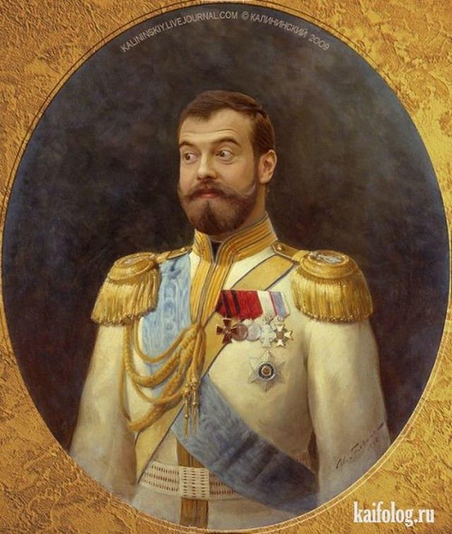 Путин, Медведев и изумрудный хуй (50 фото + видео)