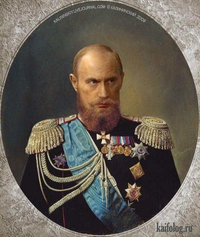Путин, Медведев и изумрудный хуй (50 фото и видео)