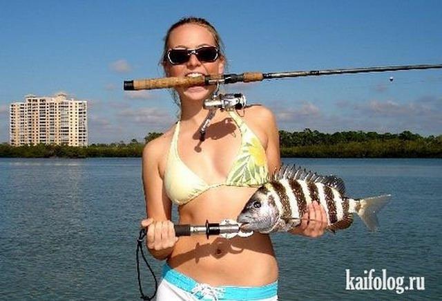 прикольные картинки про рыбалку: