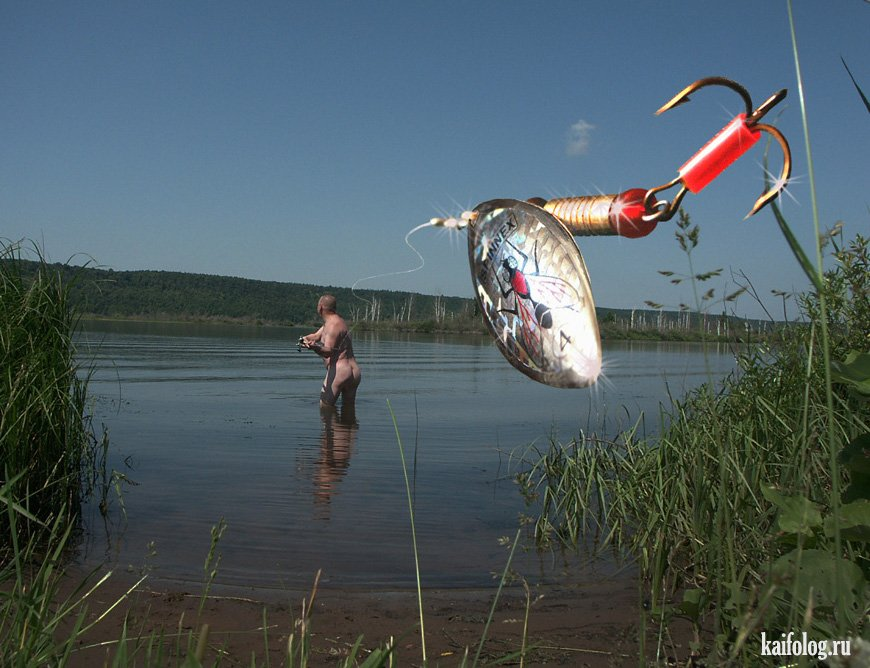 приколы на рыбалка