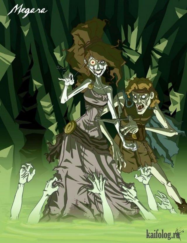 Злые сказочные персонажи Джефри Томаса (12 картин)