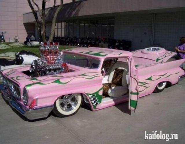Самые безумные авто (25 фото)