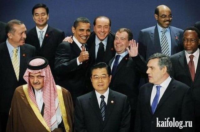 Прикольные политики (45 фото)