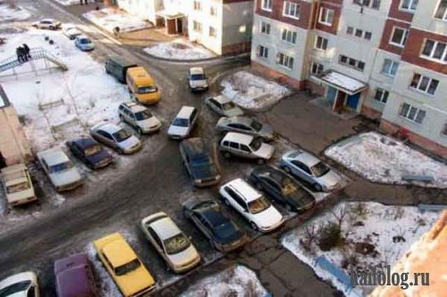 Мастера парковки. Часть-5 (30 фото + видео)