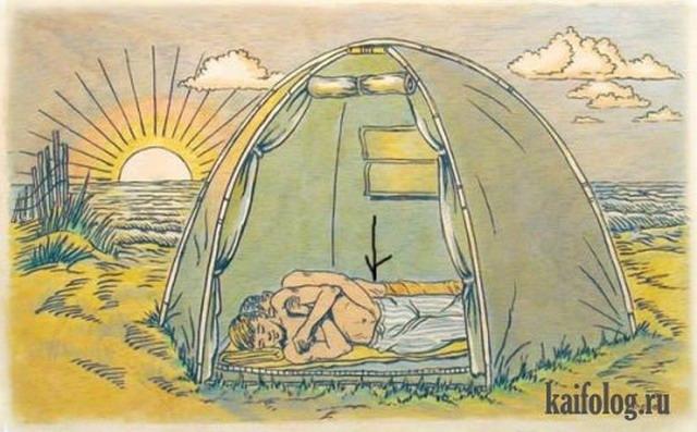Летний лагерь в США (4 картинки)