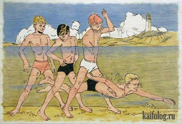Рисунки голых мальчиков
