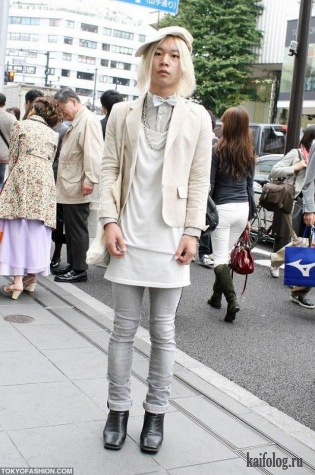 Как одевается японская молодежь (30 фото)