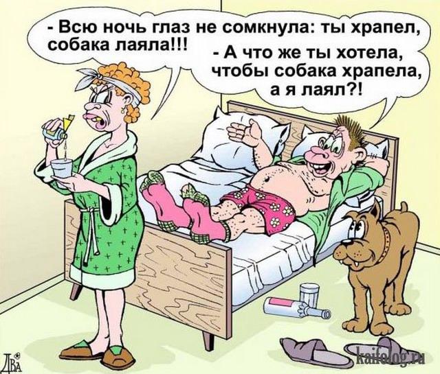 Анекдоты в картинках и карикатуры