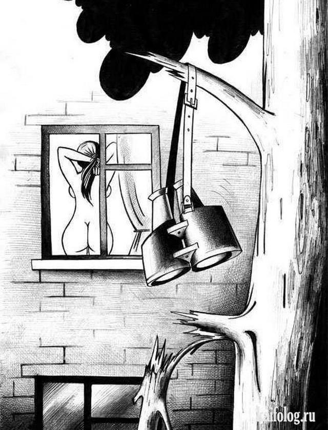 Подборка прикольных рисунков (30 картинок)