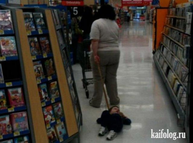 Приколы в супермаркетах (40 фото)