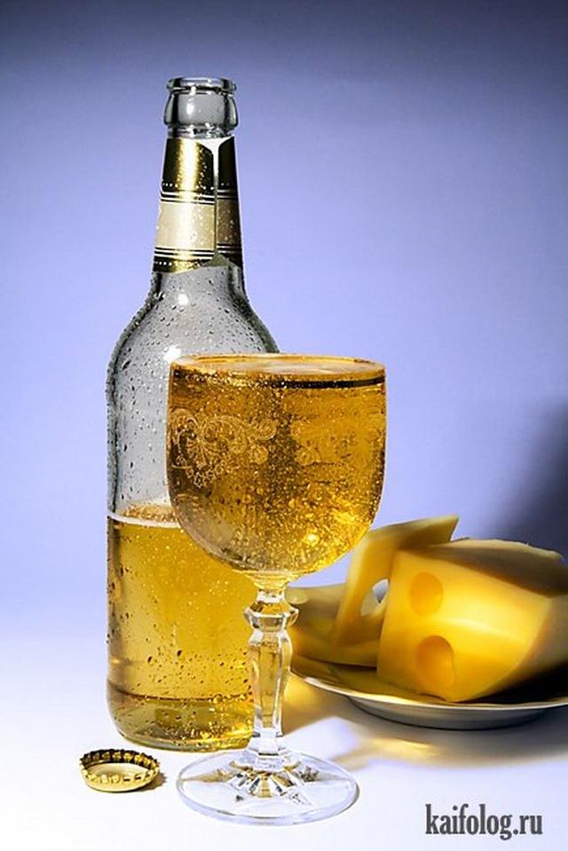 Позитив на пятницу. Про пивко и водочку (25 фото)