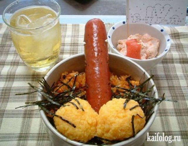 Вкусно жрать или приколы про еду (35 фото)
