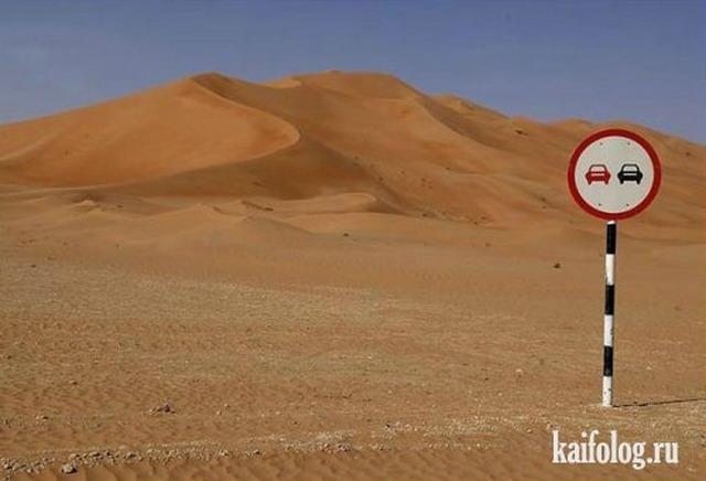 Прикольные знаки со всего мира (35 фото)