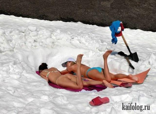 Зимние приколы (35 фото)