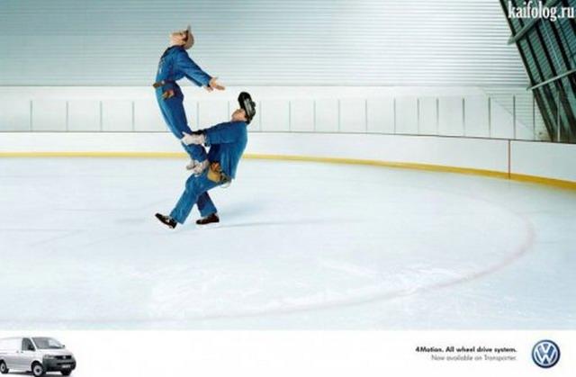 Прикольные рекламные креативы (40 фото)