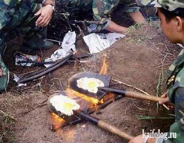 Армейские приколы и маразмы (35 фото)
