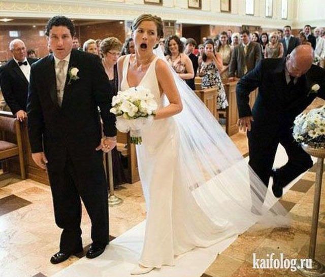Свадебные приколы (45 фото)
